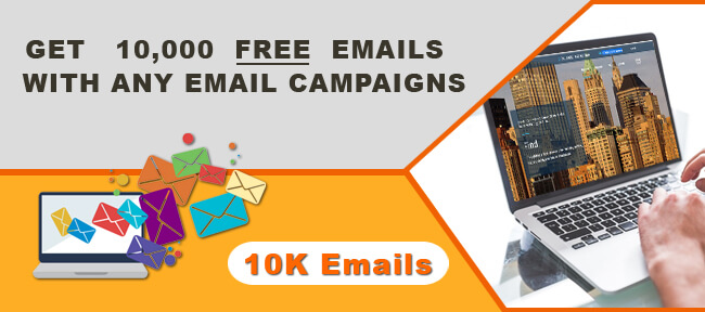 Get Free 10000 emails